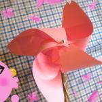 桜花風車 【風車の作り方】