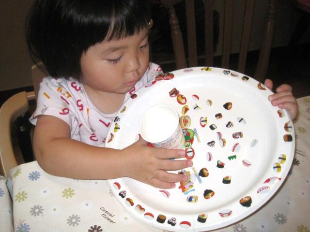 紙皿寿司 4