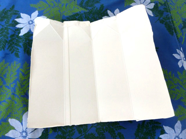 牛乳パックで手作り紙 1