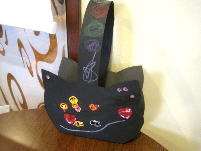 黒猫バック 3