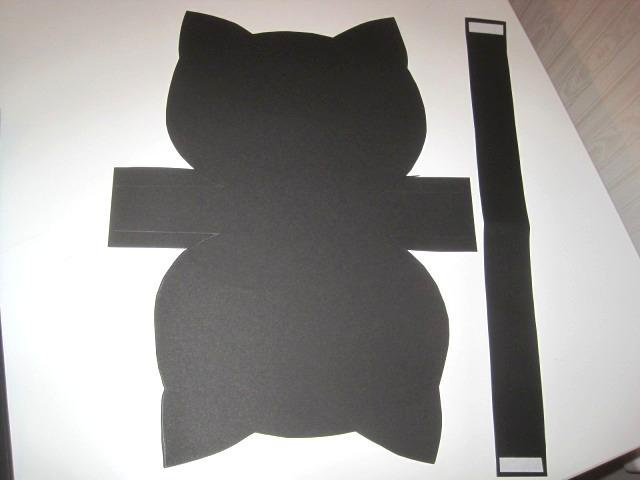 黒猫バック